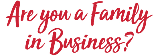 Are you a Family in Business?
